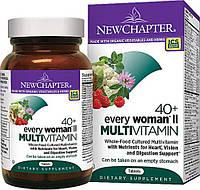 Ежедневные Мультивитамины для Женщин II 40+, Every Woman, New Chapter, 48 таблеток