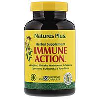 Иммуностимулирующий комплекс, Immune Action, Natures Plus, 120 растительных капсул
