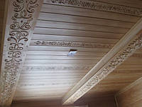 Вагонка с резным орнаментом  , фото 1