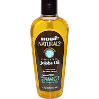 Hobe Labs, Naturals, органічне масло жожоба, 118 мл (4 рідких унції)