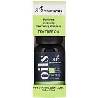 Artnaturals, Масло чайного дерева, 0,50 ж. унц. (15 мл)