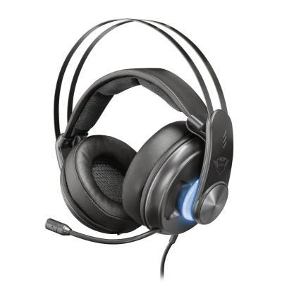 Наушники Trust GXT 383 Dion 7.1 Bass Vibration USB BLACK (22055)