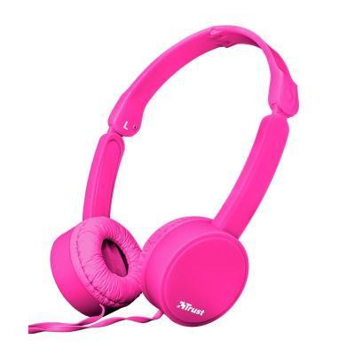 Наушники Trust Nano On-Ear Mic Pink (23102)