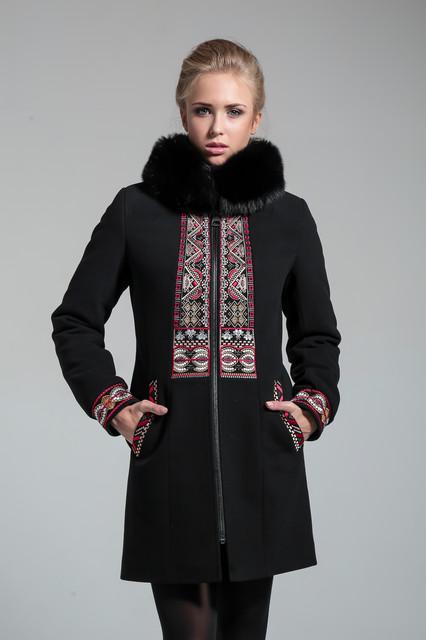 Женские зимние пальто из кашемира с мехом и без меха (коллекция 2015-2016 года)