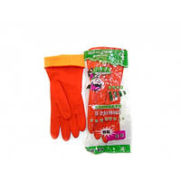 Перчатки резиновые утепленные