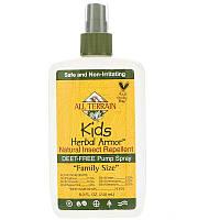 All Terrain, Травяная защита детей, натуральный репеллент от насекомых, спрей от комаров 240 мл