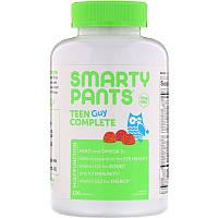 SmartyPants, Teen Guy Complete, Lemon Lime, Cherry, and Sour Apple, 120 Gummies
