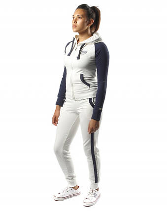 Спортивный костюм женский Leone White/Blue XS, фото 2