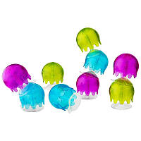 Boon, Jellies, Suction Cup Bath Toys, 9 Suction Cup Bath Toys, 12+ Months