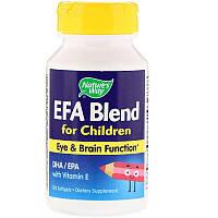 Nature's Way, EFA Blend for Children, 120 Softgels
