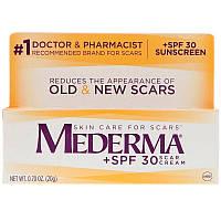 Mederma, Крем от шрамов, фактор защиты SPF 30, 20 г