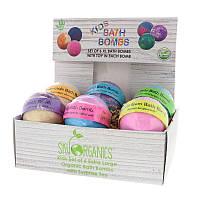 Sky Organics, Детские бомбочки для ванны с игрушками-сюрпризами, 6шт.