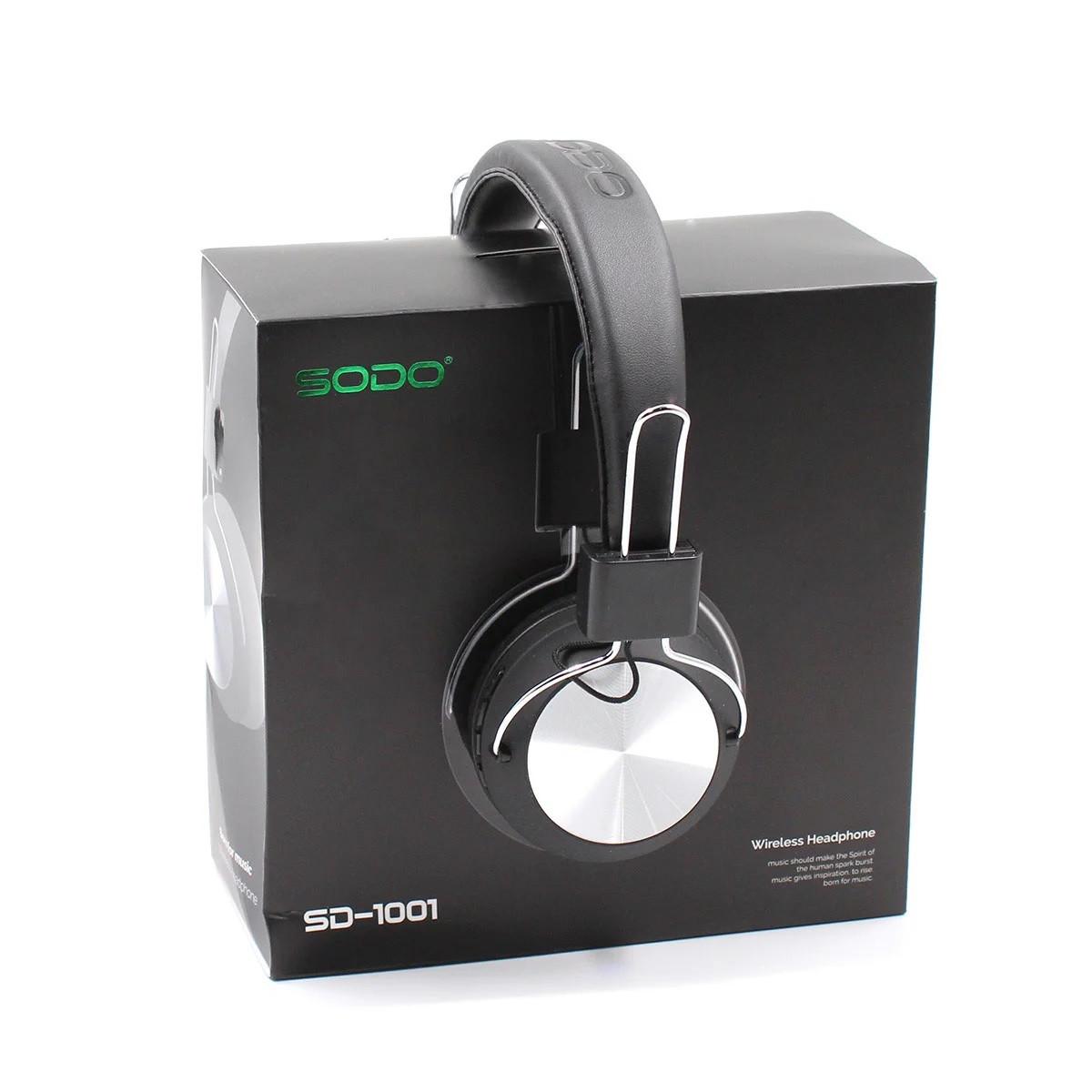 Навушники MDR ST 1001BT SODO black