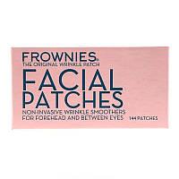 Frownies, Пластыри для лица от морщин, для кожи на лбу и между глазами, Antiaging 144 пластыря