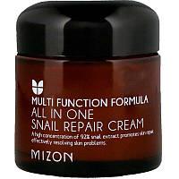 Mizon, Восстанавливающий крем All In One Snail Repair, 2,53 унции (75 мл)