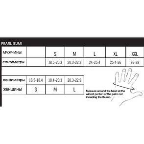 Перчатки PEARL iZUMi ATTACK, чорні, розм. XXL, фото 2