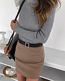 """Женская юбка мини """"Gloss""""  Распродажа модели, фото 3"""