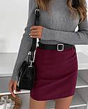 """Женская юбка мини """"Gloss""""  Распродажа модели, фото 5"""
