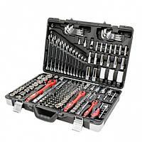 Профессиональный набор инструментов, 1-4 дюйма и 3-8 дюйма и 1-2 дюйма, 176 ед. INTERTOOL ET-7176