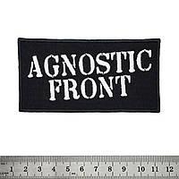 Нашивка Agnostic Front (logo)