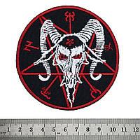 Нашивка Baphomet (red pentagram)