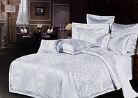 Элитное постельное белье Viluta Сатин жаккард Tiare 1746 Семейный SKL53-240002