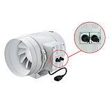 Канальный вентилятор смешанного типа ВЕНТС TT ПРО 100 (120/60), фото 5