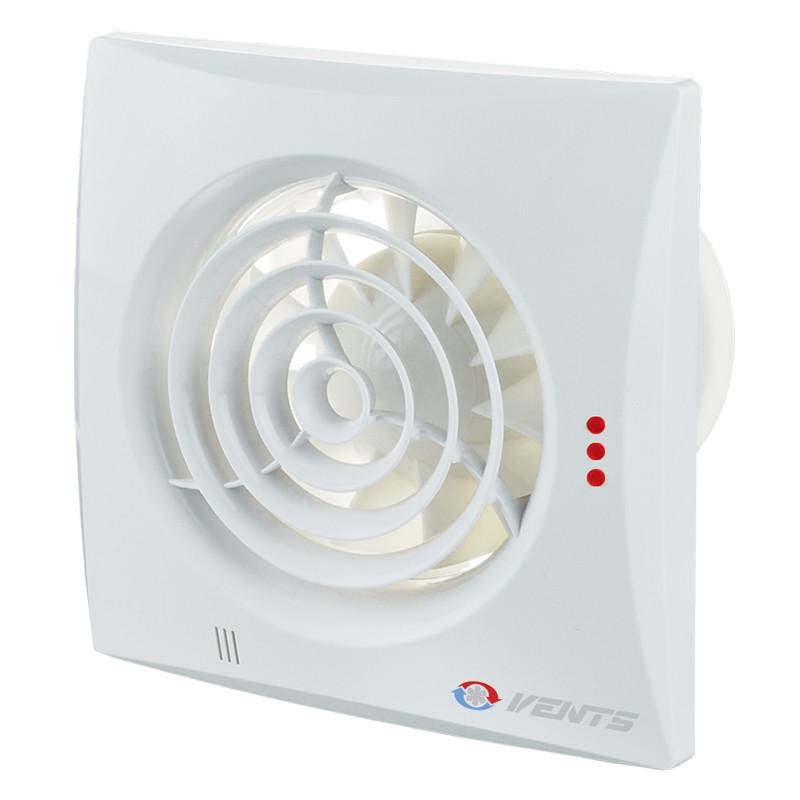 Осевые энергосберегающие вентиляторы с низким уровнем шума ВЕНТС Квайт 100 DC ТН