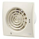 Осевые энергосберегающие вентиляторы с низким уровнем шума ВЕНТС Квайт 100 DC ТН, фото 3