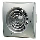 Осевые энергосберегающие вентиляторы с низким уровнем шума ВЕНТС Квайт 100 DC ТН, фото 4