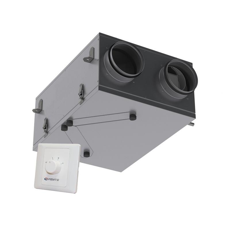 Приточно-вытяжная установка с рекуперацией тепла ВЕНТС ВУТ 100 П мини