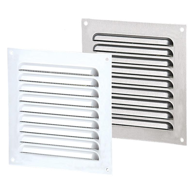 Приточно-вытяжные решетки металлические однорядные ВЕНТС МВМП 150х210
