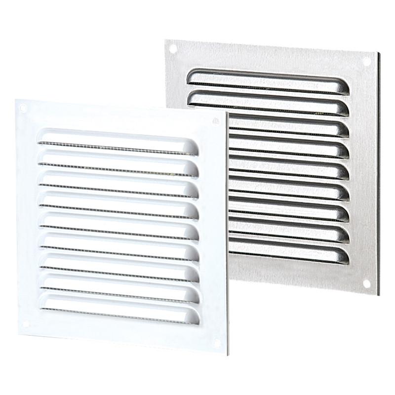 Приточно-вытяжные решетки металлические однорядные отбортованные ВЕНТС МВМПО 150х215