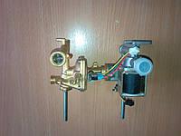 Газоводяной редуктор (гидравлический блок) китайских газовых колонок.