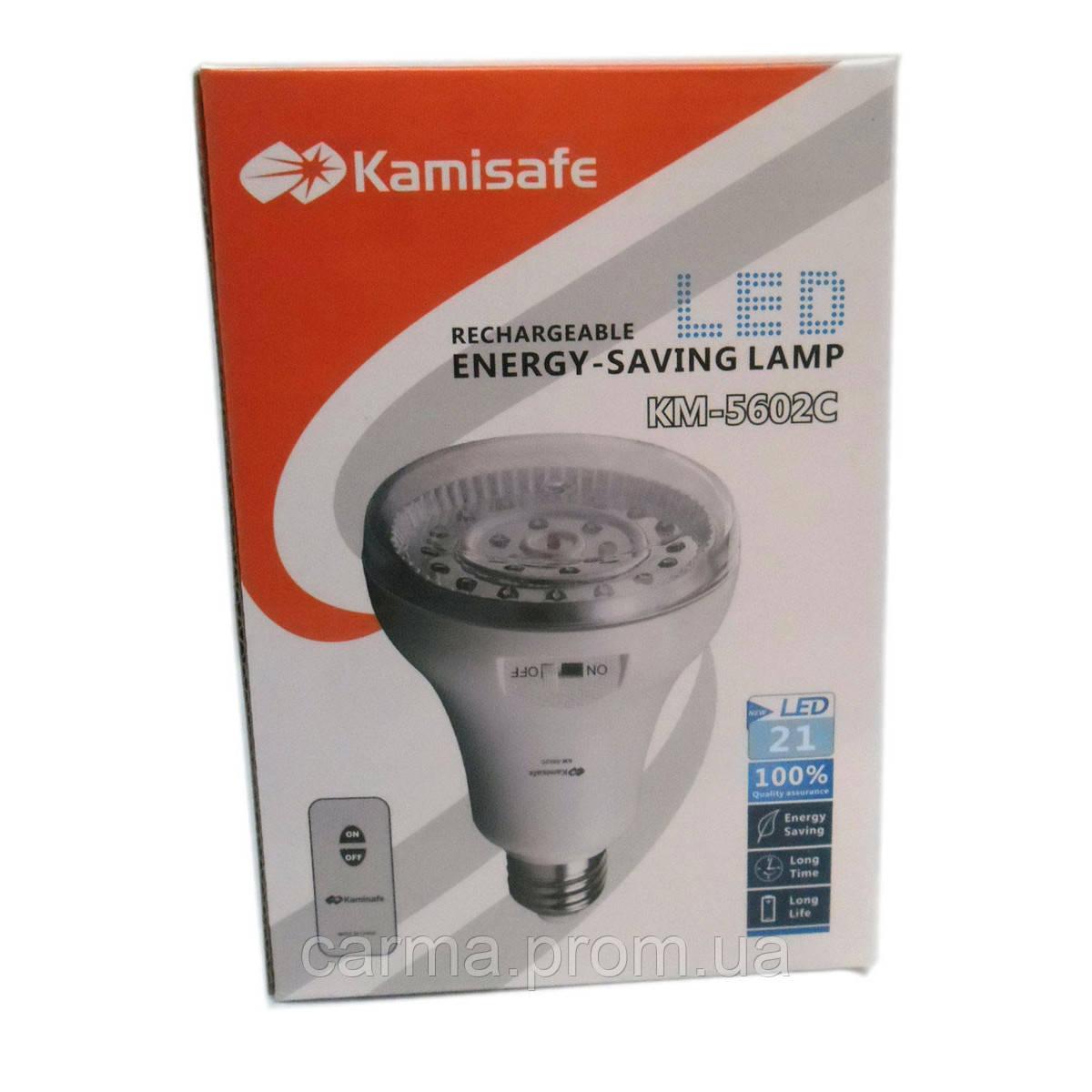 Аварийная лампа Kamisafe KM-5602C на 21 светодиодод Белый
