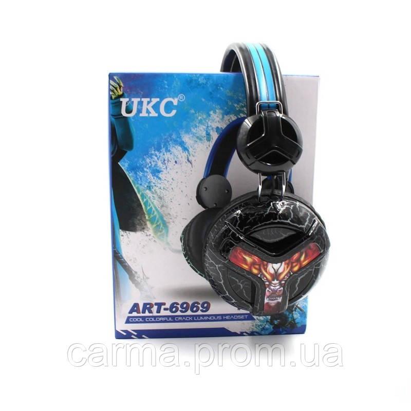 Игровые наушники UKC E001 6969 Черные
