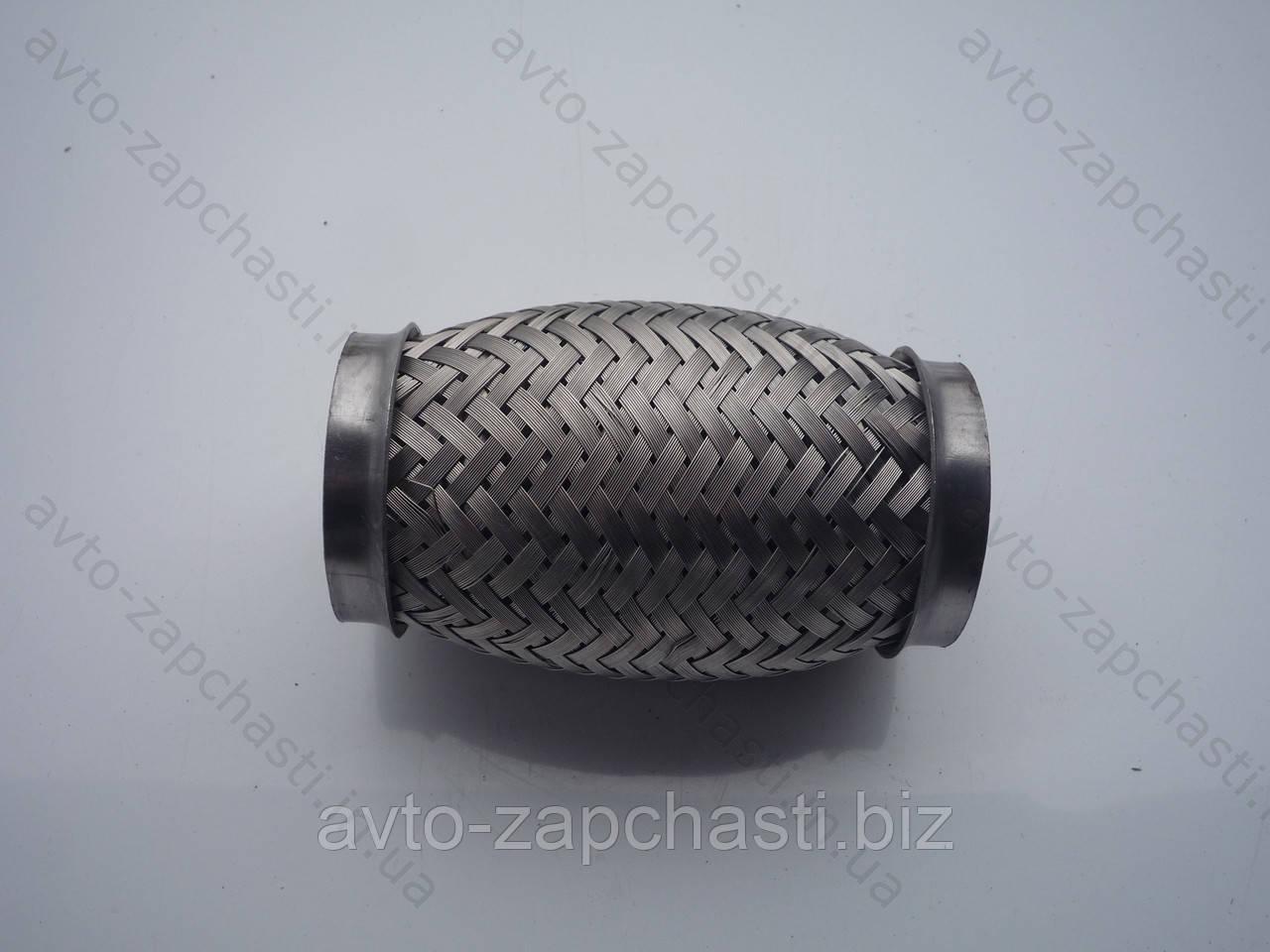 Гофра 50х120  VW  (3-х слойная, короткий фланец/ нерж.сталь) (CL  50x120 VW)