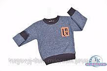 Батник для мальчика трикотажный (цв.синий)  REMI 284 Рост:98