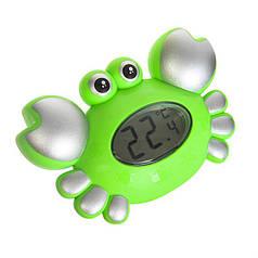 Термометр-игрушка для ванной Крабик Green (NSc.5534)