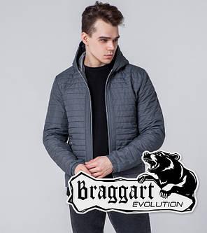 Braggart Evolution 1295 | Мужская ветровка серая, фото 2