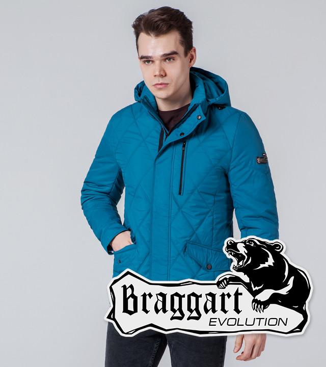 Braggart Evolution 1462 | Мужская ветровка бирюзовая