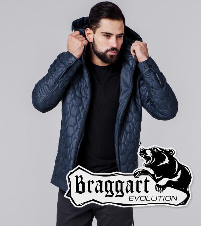 Braggart Evolution 1272   Мужская ветровка темно-синяя