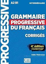 Grammaire Progressive du Français 4e Édition Intermédiaire Corrigés / Сборник ответов