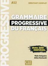 Grammaire Progressive du Français Débutant Complet Livre avec CD audio et Livre-web (Nouvelle Edition)