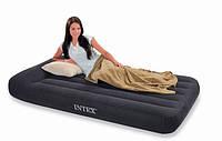 Надувной диван-кровать Intex Pillow Rest Classic Intex 66767 (99х191х30 см.)