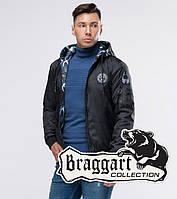 Braggart Youth | Двусторонний бомбер осенний 32898 черный