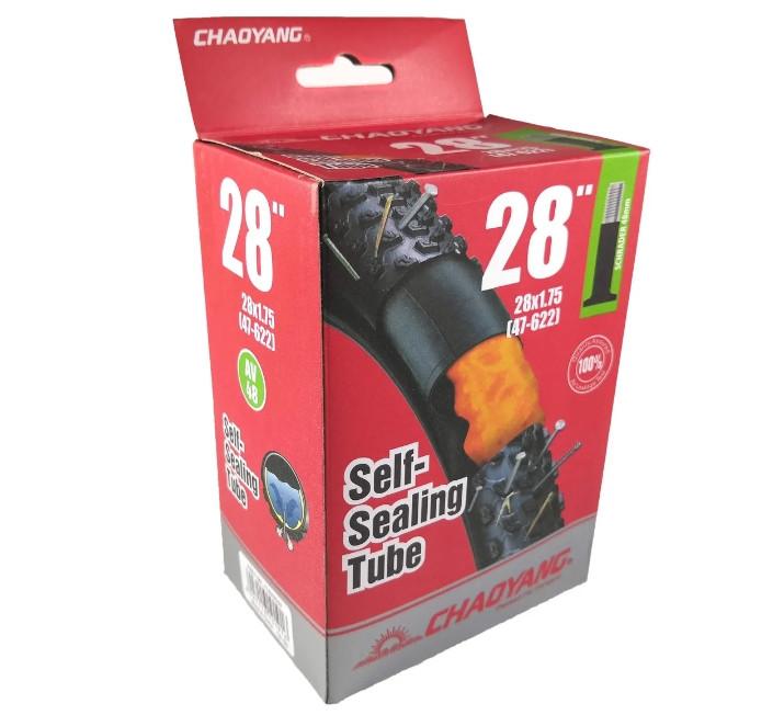 "Камера 28""х1.75 (47-622) ChaoYang ""Самоклейка"""