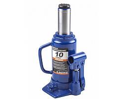 Домкрат гидравлический бутылочный 10 т 200-385 мм LA JNS-10