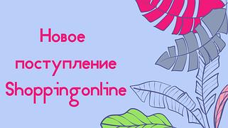 Новое поступление от Shoppingonline 7.01