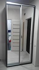 Шкаф-купе 150x60x240 см - две двери - зеркало или ДСП - МФ Влаби - Одесса, фото 3
